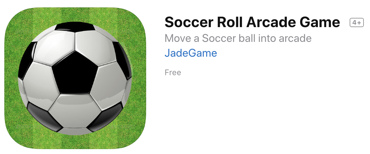 Soccer Roll Arcade Game